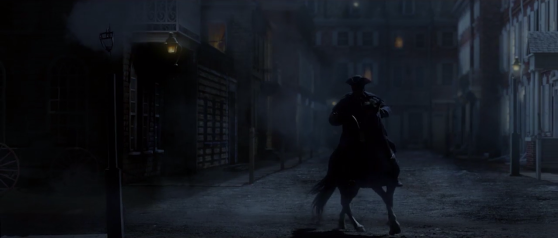 The highwayman rides into Philadelphia.